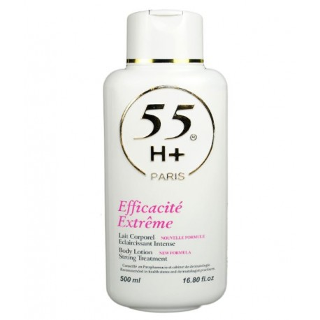 55 H+ efficacite extreme lotion 500 ml