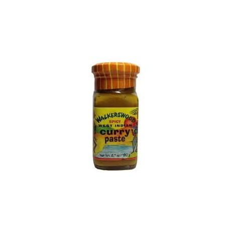 Walkerswood Spicy West Indian Curry Paste, (6.7oz./190g)