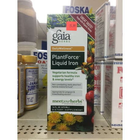 Plant force liquid iron